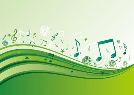 horisontal: horisontal music banners