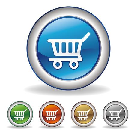 emporium: vector e-commerce icon Illustration