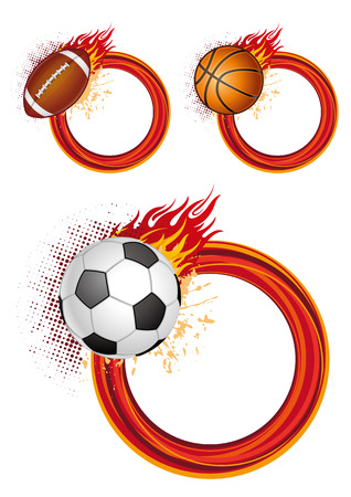 sports design elements Stock Vector - 7528479