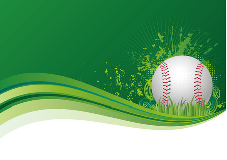 baseball game: baseball design elements,red background