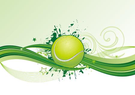 tennis ball: tennis design element