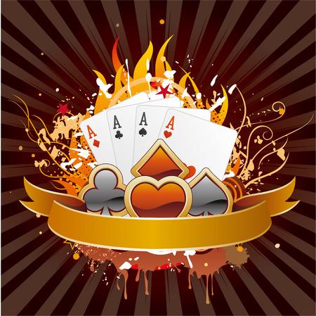 wagers: elementos de Casino, juegos de azar fondo