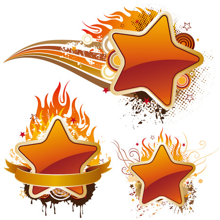 star and flame: stars and flame
