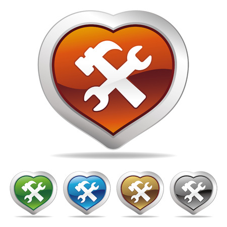 bricolage: tool icon set