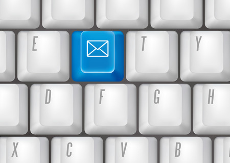 keyboard buttons - email Stock Vector - 7528593