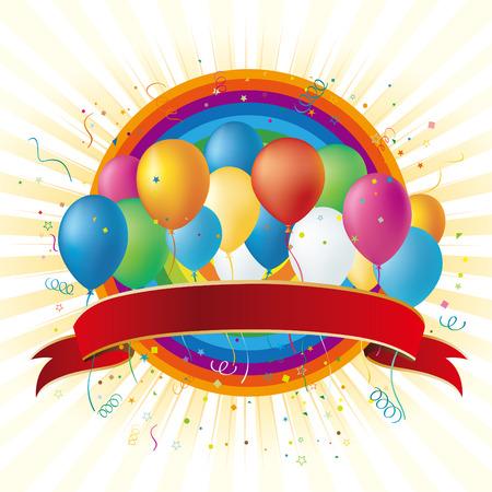 balloons disign element Stock Vector - 7528566