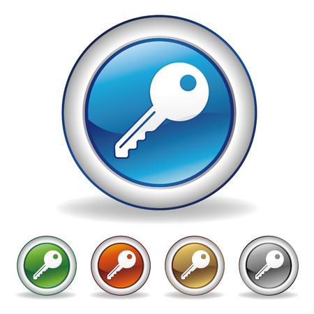 Key icon: key icon set