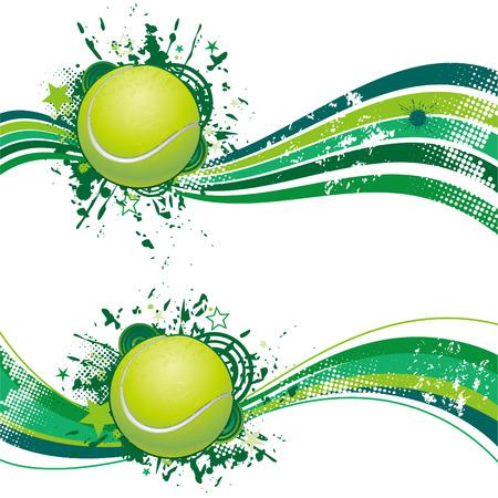 tennis design element