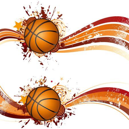 Basketball-Design-element