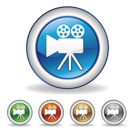 camera icon Stock Vector - 7528642
