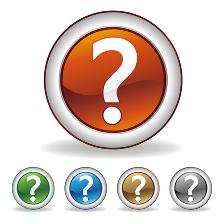 question icon Stock Vector - 7528638