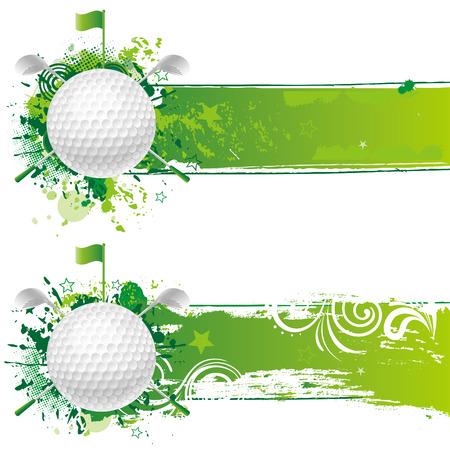 Golf-Design-element