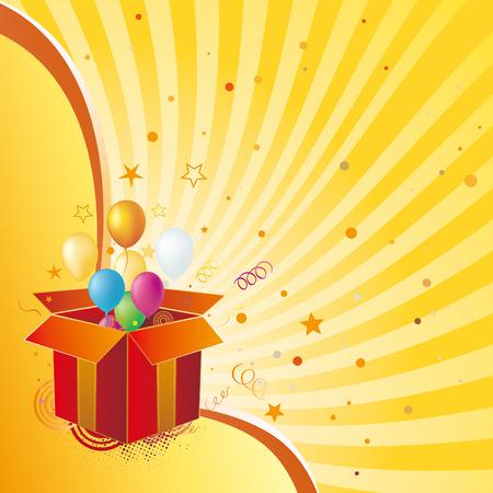 gift box,celebration design element Stock Vector - 7558124