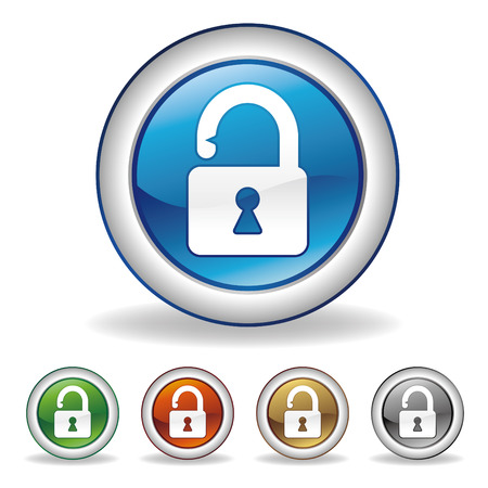 to lock: icona di blocco