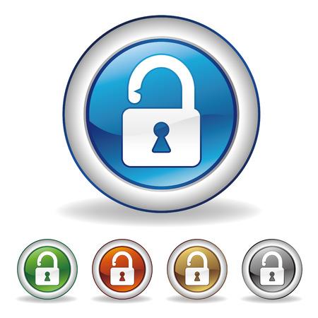 to lock: icono de candado