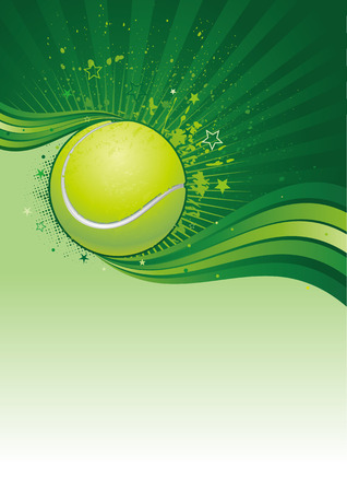 leisure games: tennis sport design element