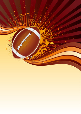 american football background: american football sport design element