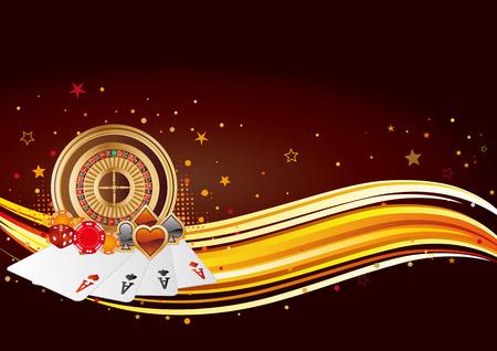 wagers: elementos de dise�o de Casino, fondo abstracto