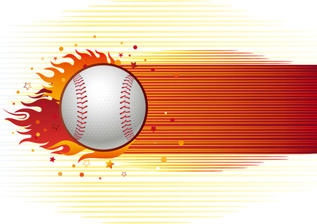 baseball sport design element,abstract background Vector