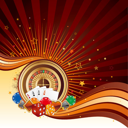fortune graphics: casino design elements,abstract background