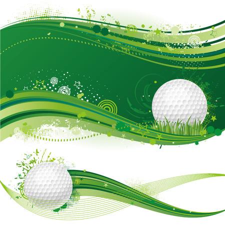 golf sport ontwerp element