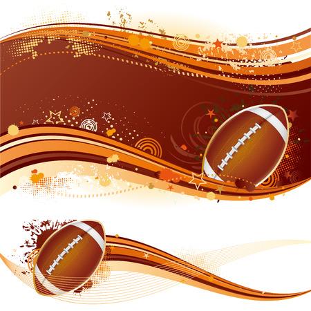 football match: american football sport design element