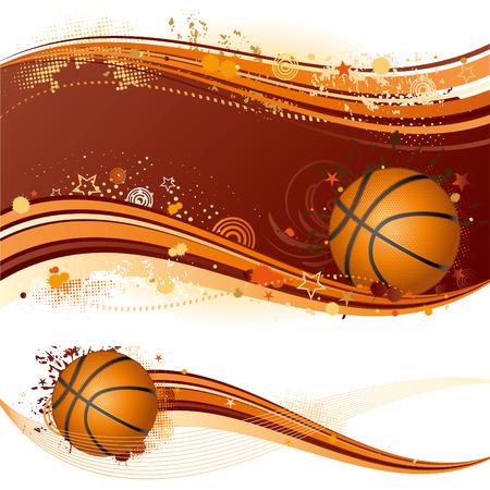 basketball sport design element Stock Vector - 7558152