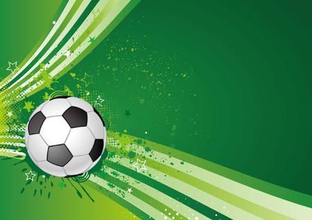 Elemento de diseño de deporte de fútbol  Foto de archivo - 7580290