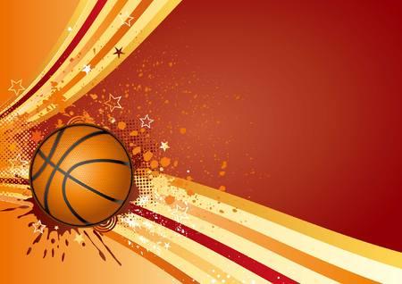 basket bal sport ontwerp element