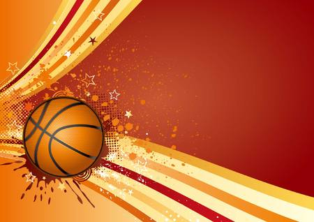 basketball sport design element Stock Vector - 7580315