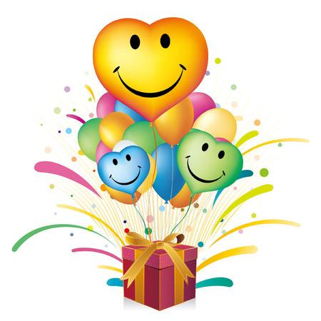 balloons,heart,celebration disign element Stock Vector - 7580308