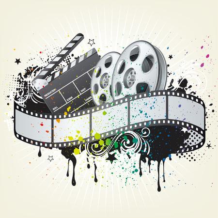 design element for movie theme Stock Vector - 7580302