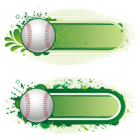 baseball game: design elements-baseball