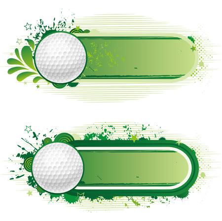 design elements-golf Vector
