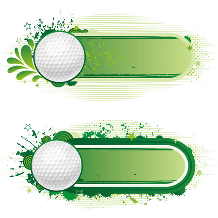 exercise ball: design elements-golf Illustration