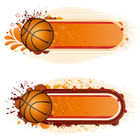 design elements-basketball Vector