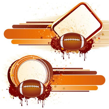 american football sport,  design elements