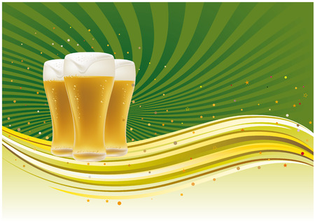 beer design element,abstract backgrounds Stock Vector - 7580331