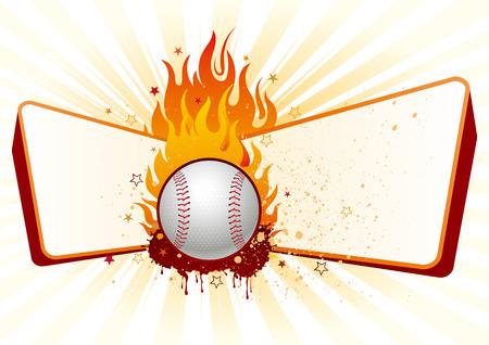 lame,baseball design element Vector