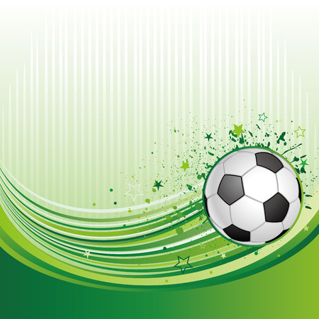 illustration of soccer sport Stock Vector - 7696778
