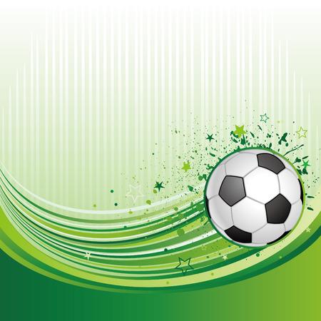 football match:  illustration of soccer sport Illustration