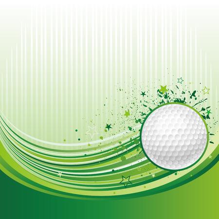 play golf:   illustration of golf sport