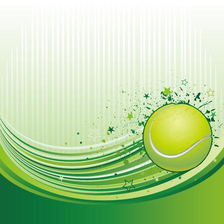 vector illustration of tennis sport Vector