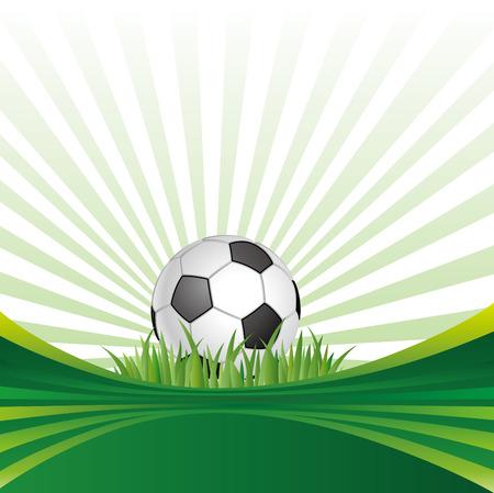 background of soccer sport Vector