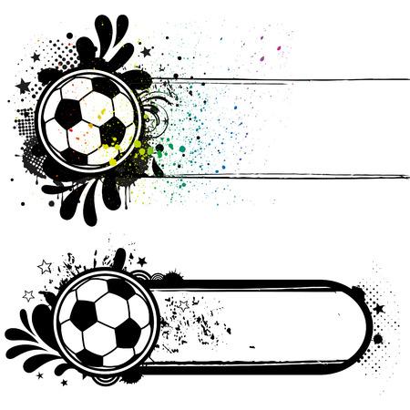 soccer sport design elements Vector