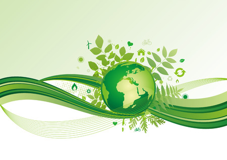 background of environment Stock Vector - 7923876
