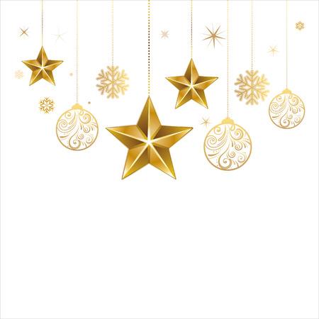 spangle: christmas star and decoration ball