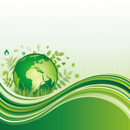 background of environment Stock Vector - 8058082