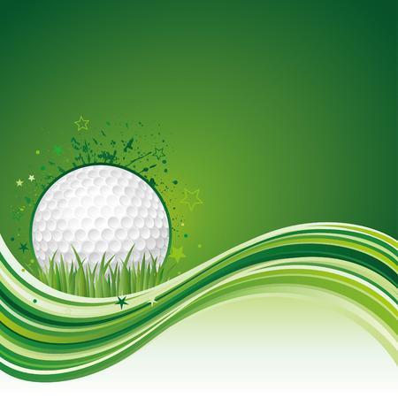 illustration of golf sport Vector