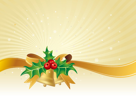 illustration of christmas background Vector